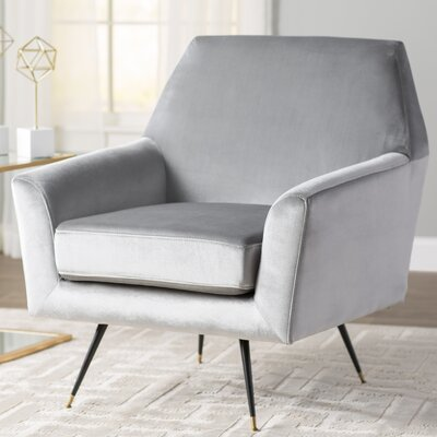 Arsdale Armchair Upholstery: Light Gray