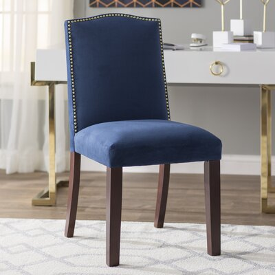 Gillenwater Side Chair Color: Navy