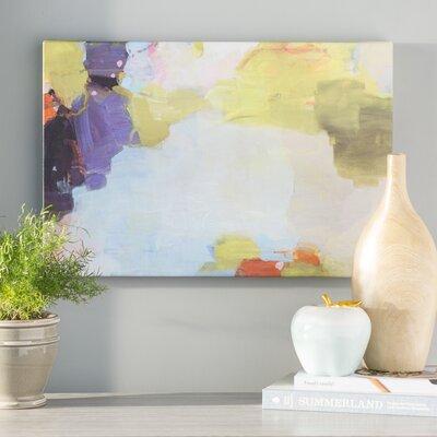 'Velvet Skies' Painting Print on Canvas Size: 24