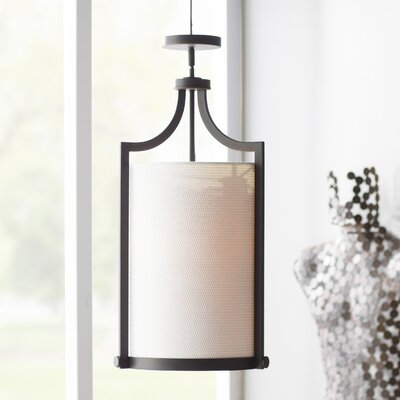 Bullen 3-Light Foyer Pendant Finish: Russet Bronze
