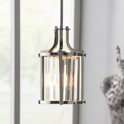 Bunton 1-Light Mini Pendant Finish: Polished Nickel