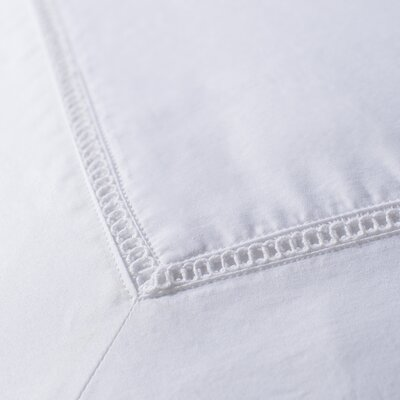 Ertel Sham Size: Breakfast, Color: White