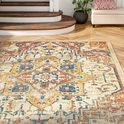Jae Beige Area Rug Rug Size: Rectangle 8 x 114