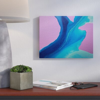 Body of Water Painting Print on Wrapped Canvas Size: 11