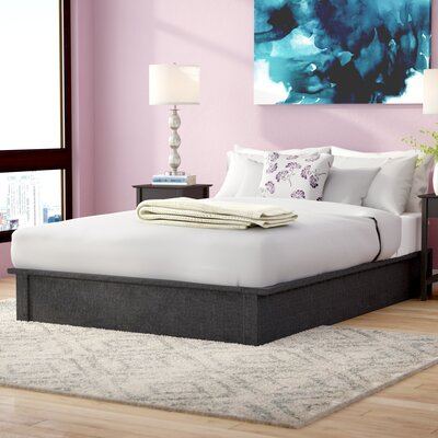 Armani Upholstered Platform Bed Size: Full