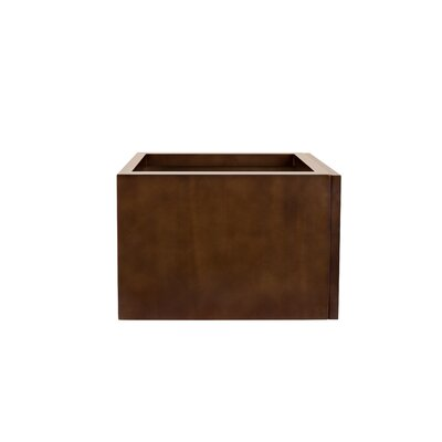 Rebecca 18 Single Bathroom Vanity Base Base Finish: Dark Cherry