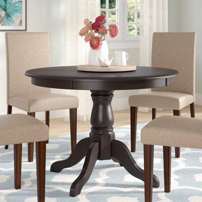 Biermann Dining Table Finish: Antique Black