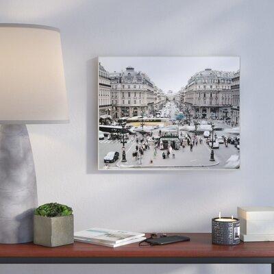 'Vintage Paris' Photographic Print Format: Plaque, Size: 10