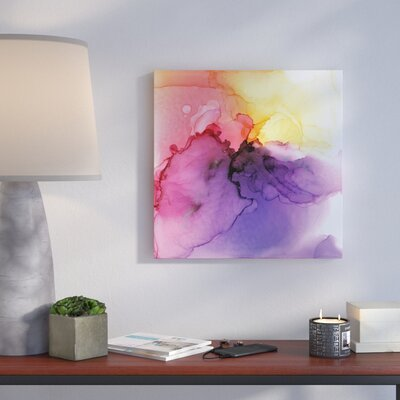 'Improper Spectrum 15' by Sia Aryai Painting Print on Wrapped Canvas Size: 10