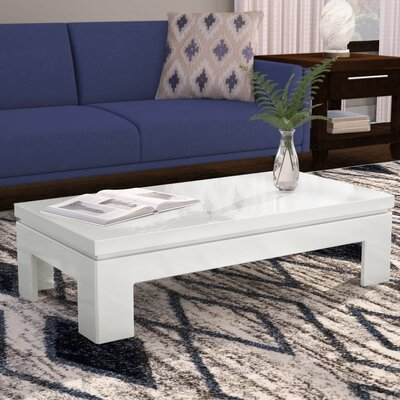 Belwood Coffee Table Color: Off White