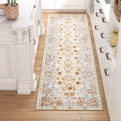Carrico Beige Area Rug Rug Size: Rectangle 5 x 8
