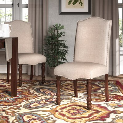 Cara Dining Upholstered Side Chair (Set of 2)