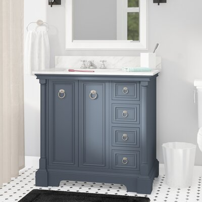 Haffenreffer 36 Single Bathroom Vanity Set