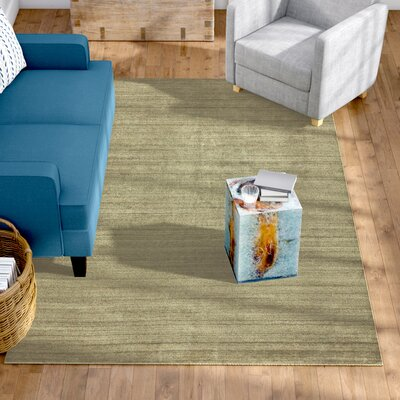 Dodson Hand-Woven Ivory Area Rug Rug Size: 56 x 86