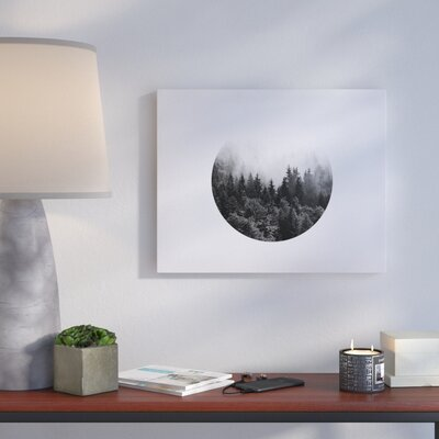 'Mountain' Photographic Print on Canvas Size: 16