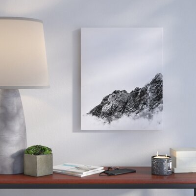 'Mountain' Rectangle Photographic Print on Canvas Size: 10
