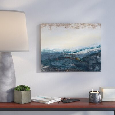 'The Sea In The Morning' Print Format: Canvas, Size: 16
