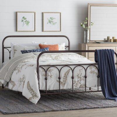 Boris Platform Bed Size: Queen, Color: Bronze