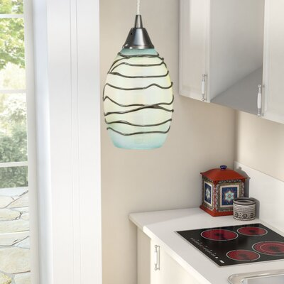 Angelika Modern 1-Light Mini Pendant Bulb Type: 60W Med. Bulb