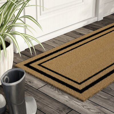Magner Classic Border Double Door Doormat Mat Size: Rectangle 24 x 60