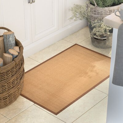 Cheyanne Brown Border Area Rug Rug Size: Rectangle 17 x 27