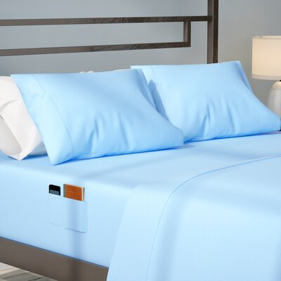 Modern Living Smart Sheet Set Size: Queen, Color: Navy