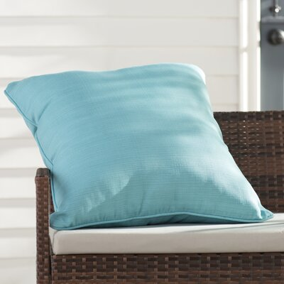 Tadley Corded Outdoor Throw Pillow Color: Pool
