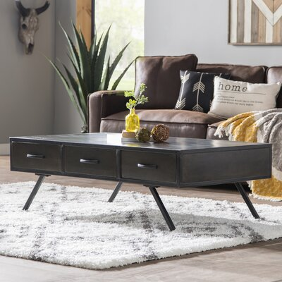 Bridges Mango Wood Coffee Table