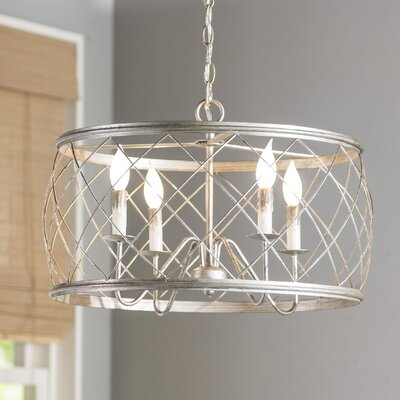 Ryne 4-Light Drum Pendant Size: 14.5 H