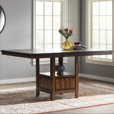 Allenville Counter Height Table Tabletop Size: 36 H x 47.5 W x 53.5