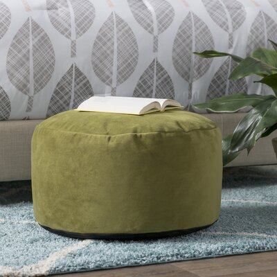 Fairfax Foot Pouf Color: Moss