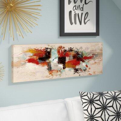 'SAI - Geometric Fade' Painting Print on Canvas Size: 10
