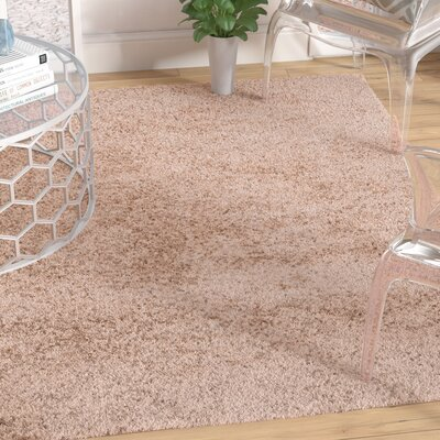 Brandt Taupe Area Rug Rug Size: 49 x 66
