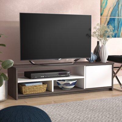 Frederick 53.5 TV Stand Color: Dark Gray/White