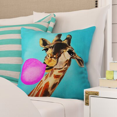 Nadine Outdoor Throw Pillow Size: 18 H x 18 W x 5 D