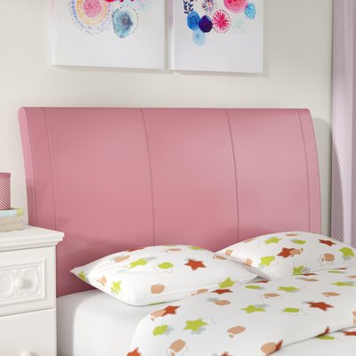 Jevon Upholstered Headboard Size: Full, Color: Pink