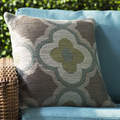 Bagdad Filigree Indoor/Outdoor Throw Pillow Size: 18 H x 18 W x 0.5 D