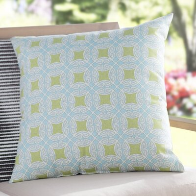Slauson Indoor/Outdoor Throw Pillow Color: Oasis
