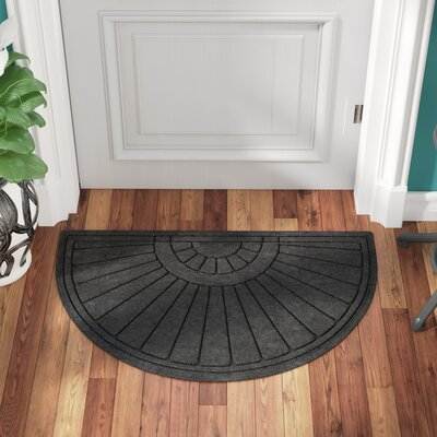 Landry Sunburst Doormat Color: Charcoal