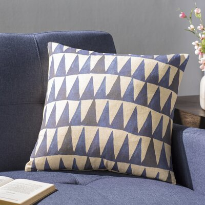 East Rolstone Triangle Throw Pillow Size: 18 H x 18 W x 8 D