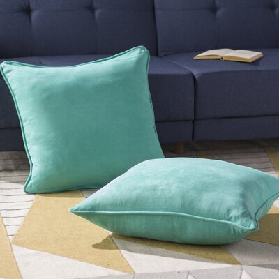 Boulware Floor Pillow Color: Emerald
