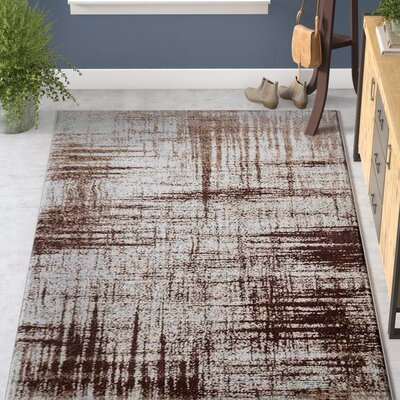 California City Beige Area Rug Rug Size: 5 x 8