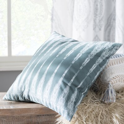 Arlo Geometric Outdoor Throw Pillow Size: 18 H x 18 W, Color: Green