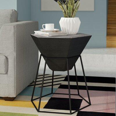 Bunker End Table Color: Black