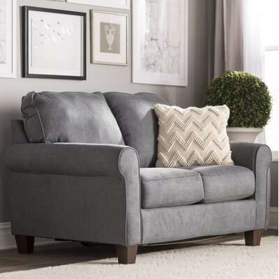 Osceola Twin Sleeper Sofa Upholstery: Denim