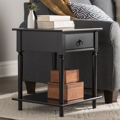 Babson Side Table Color: Black