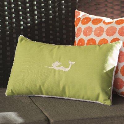 Wimauma Beach Outdoor Lumbar Pillow Color: Parrot Green