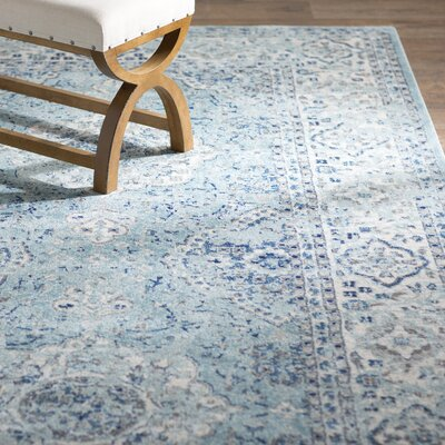 Amhurst Multi-Colored Area Rug Rug Size: 76 x 96