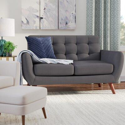 Craig Loveseat Upholstery: Gray