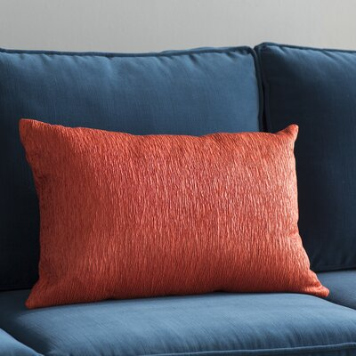 Edgar Throw Pillow Color: Orange